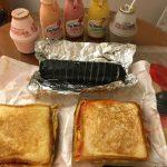 平成最後の韓国旅行 最終日の朝は屋台のトースト