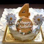 念願のSweets pipipi(スウィーツピピピ)のバースデーケーキ